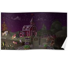 Sweet Apple Acres, Dusk Poster