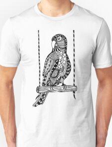 Parrot Zentangle T-Shirt