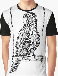 Parrot Boho Illustration Graphic T-Shirt