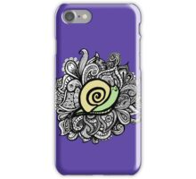 iPhone paisley snail  iPhone Case/Skin