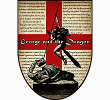 George and the Dragon (Quidditch Revised) Unisex T-Shirt