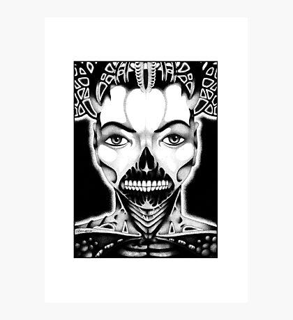 Face Num. 2 Photographic Print