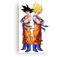 Goku Evo Canvas Print