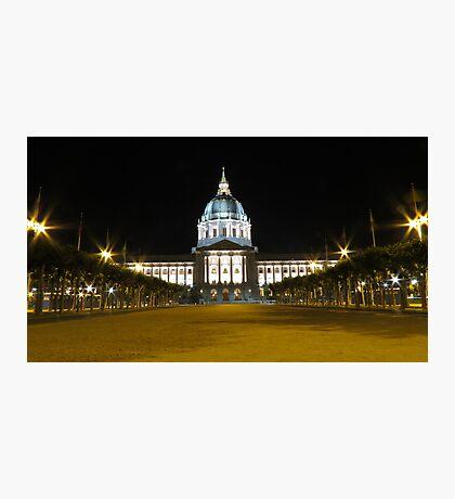 San Francisco City Hall Photographic Print