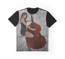 Smooth Jazz Bass Graphic T-Shirt