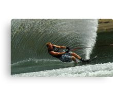 Water Skiing Magic of Water 1 Canvas Print