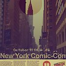 New York Comic-Con 2012 Poster by eraygakci