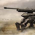Mecha Artillery by Christopher Balaskas