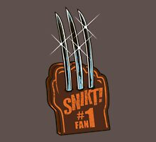 #1 Wolvie Fan Brown Costume Unisex T-Shirt