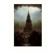 Frankenstein's Castle Art Print