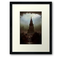 Frankenstein's Castle Framed Print