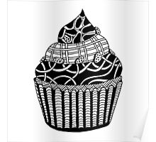 Cupcake Zentangle Poster