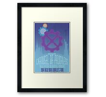 Carousel of Progress Framed Print