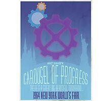 Carousel of Progress Photographic Print