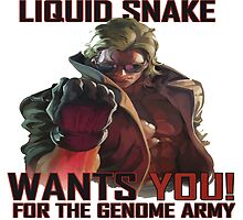 Liquid Snake wants YOU! by Franker