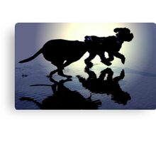 DOGS AT PLAY~ Canvas Print