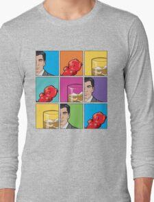scotch & gummy bears tiles Long Sleeve T-Shirt