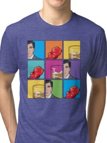 scotch & gummy bears tiles Tri-blend T-Shirt
