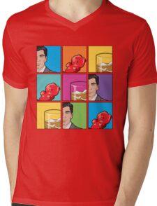 scotch & gummy bears tiles Mens V-Neck T-Shirt