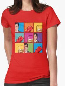 scotch & gummy bears tiles Womens Fitted T-Shirt