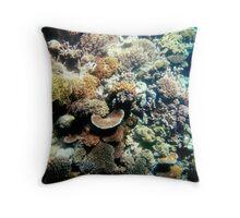 Great Barrier Reef, Australia Throw Pillow
