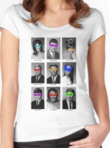 Superhero Academy Women's Fitted Scoop T-Shirt