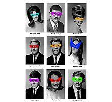 Superhero Academy Photographic Print