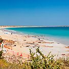 Cable beach panorama by Liz Percival