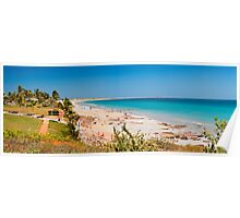 Cable beach panorama Poster