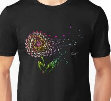 Flower in the wind Unisex T-Shirt