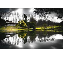 Lake House Photographic Print