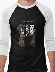 That Poor Traumatized Dovahkiin... Men's Baseball ¾ T-Shirt