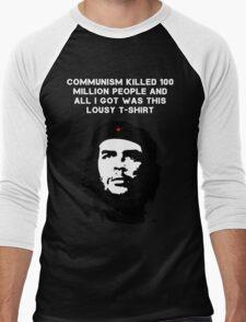 Che Guevara - Communism killed 100 million people Men's Baseball ¾ T-Shirt