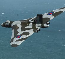 Eastbourne Airshow and the Vulcan Bomber. by Shane Ransom