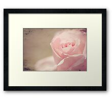 Open to love... Framed Print