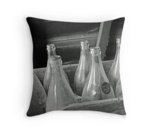 Saved bottles Throw Pillow