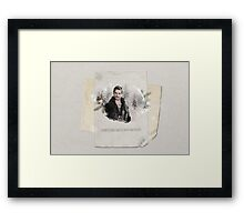 Christmas Special - Captain Hook Framed Print