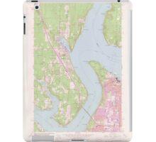 USGS Topo Map Washington State WA Gig Harbor 241270 1959 24000 iPad Case/Skin