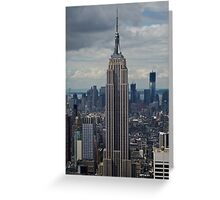 Empire State Building portrait Greeting Card