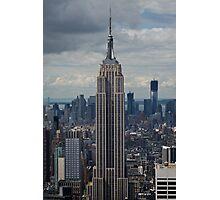 Empire State Building portrait Photographic Print