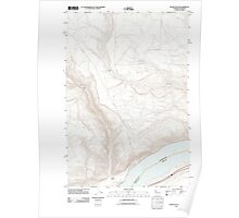 USGS Topo Map Washington State WA Wood Gulch 20110903 TM Poster