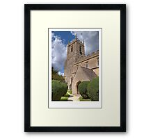 Long Compton Framed Print