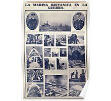 La marina britanica en la guerra 143 Poster