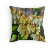Dwarf Lily-Of-The-Valley Shrub Throw Pillow