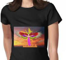 The Pagan Goddess Isis Womens Fitted T-Shirt