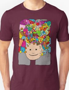 all the world in my head Unisex T-Shirt