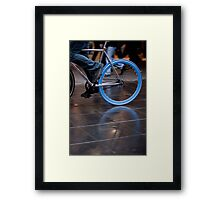 Fixed blue flash ... Framed Print