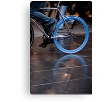 Fixed blue flash ... Canvas Print