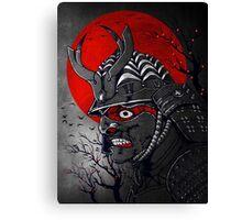 Samurai Z Canvas Print