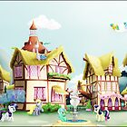 Ponyville, Noon by Stinkehund